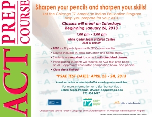 FY13-ACT prep course flyer