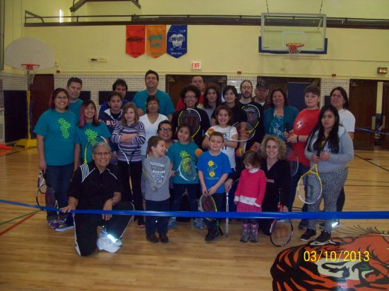 T7 & USTA's First Family Tennis Day