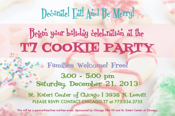 FY14-T7 Cookie Party Flyer