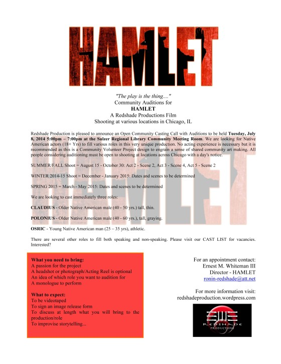 Microsoft Word - HAMLET-AUDITIONS-FLYER-2014.docx
