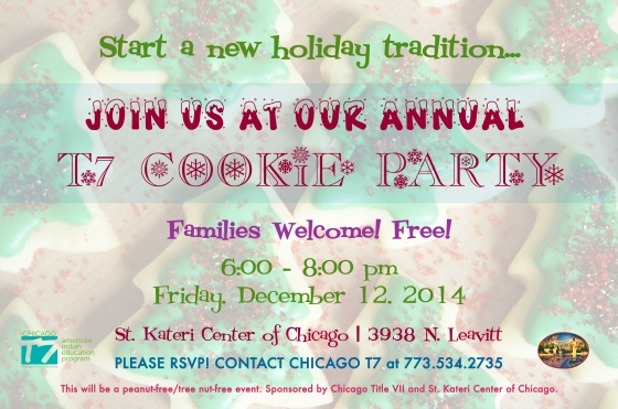 FY15-T7 Cookie Party Flyer