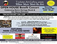 Open House Benefit FLYER Nov 8