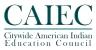 CAIEC logo embossed flattened