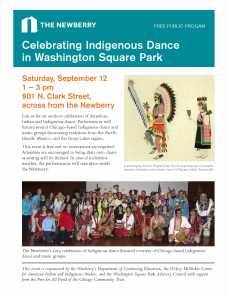 Indigenous Dance flyer 9-1