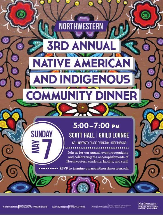 nw community dinner 5-7