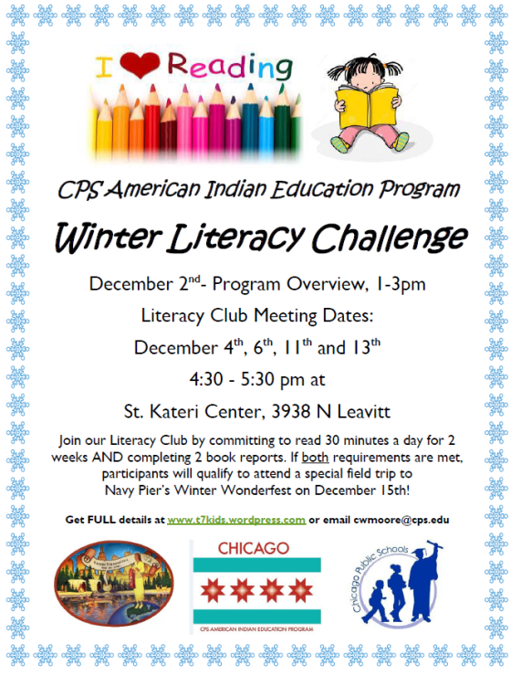 Winter Literacy Club 2017