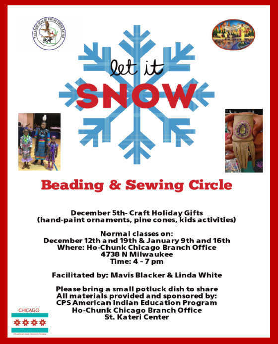 Beading Circle Winter 2017-18 session