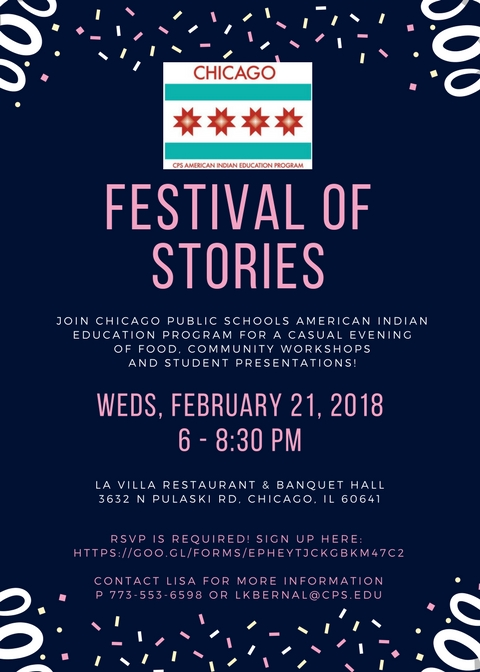 Festival of Stories 2-21-18