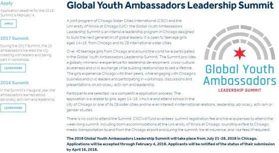 Global Youth Ambassadors