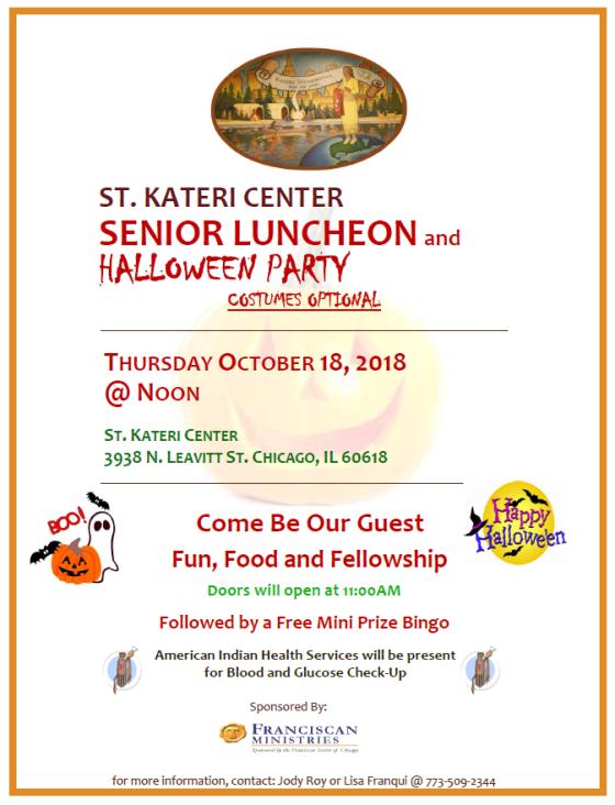 senior luncheon 10-18-18