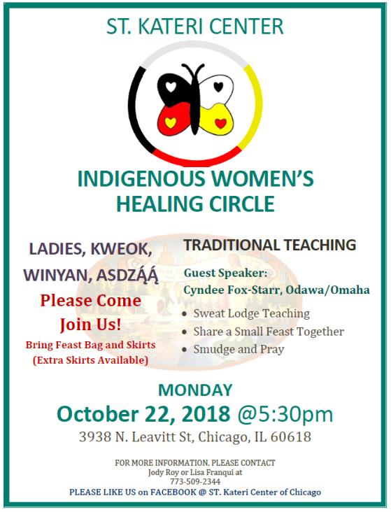 womens healing 10-22-18