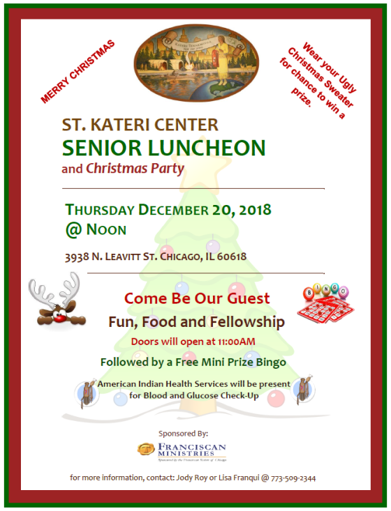 senior luncheon 12-20-18