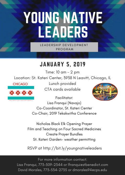 Young Native Leaders meeting 1-5-19