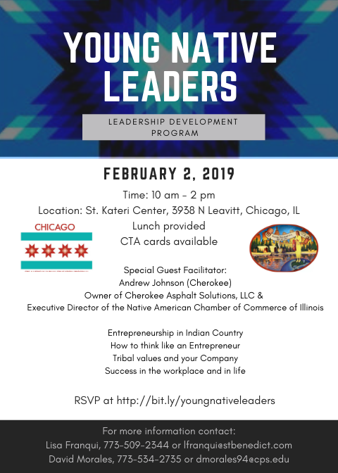 Young Native Leaders meeting 2-2-19