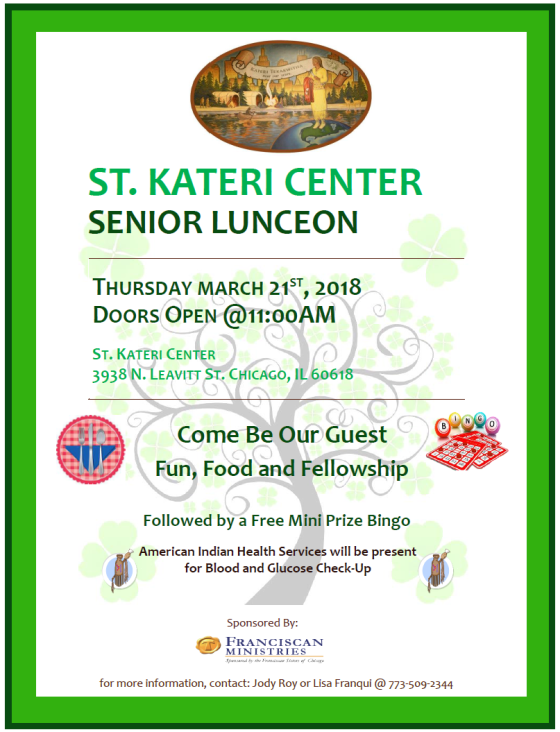 senior luncheon 3-21-19