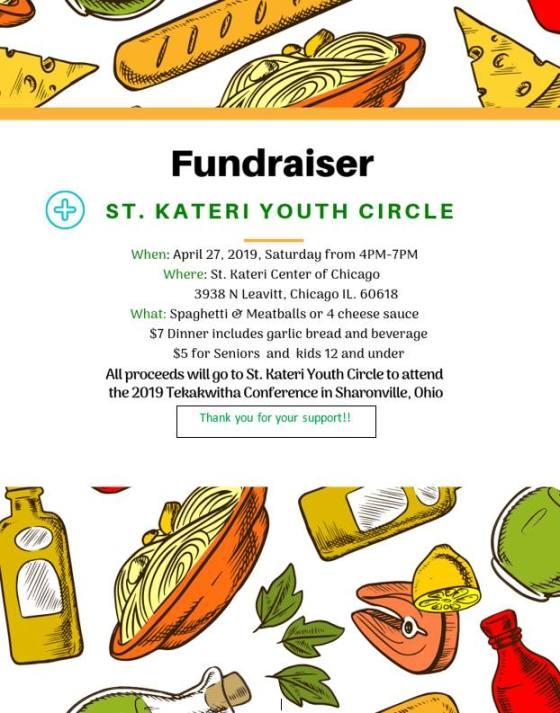 spaghetti fundraiser 4-27-19