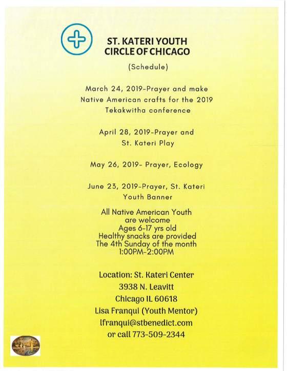ST. Kateri youth circle 1